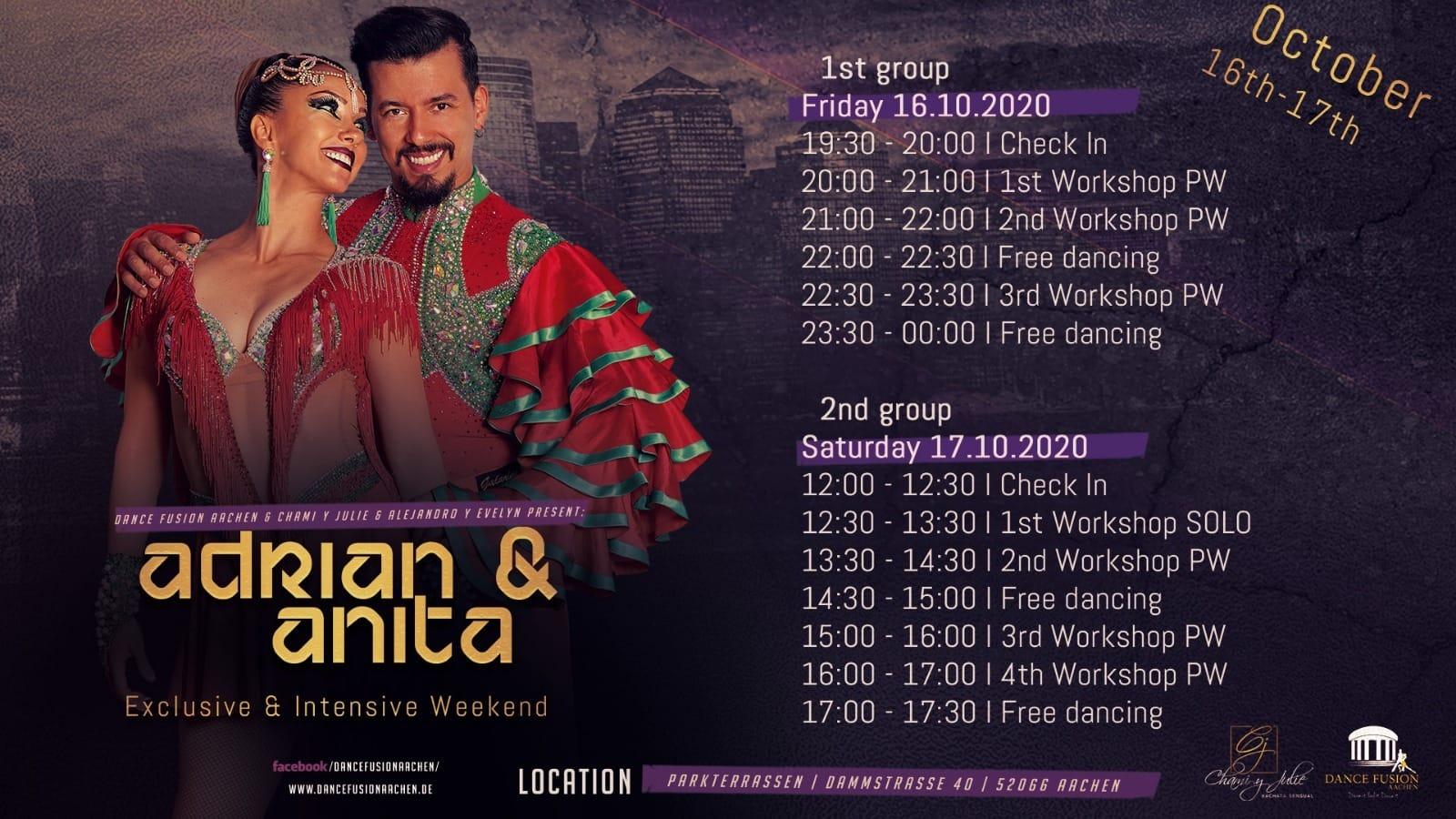 Adrian & Anita Exclusive & Intensive Weekend