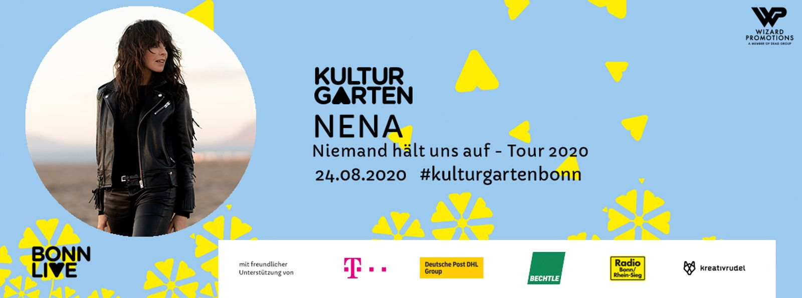 NENA: Niemand hält uns auf- Tour 2020   BonnLive Kulturgarten