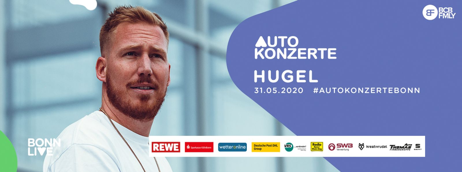 HUGEL   BonnLive Autokonzerte