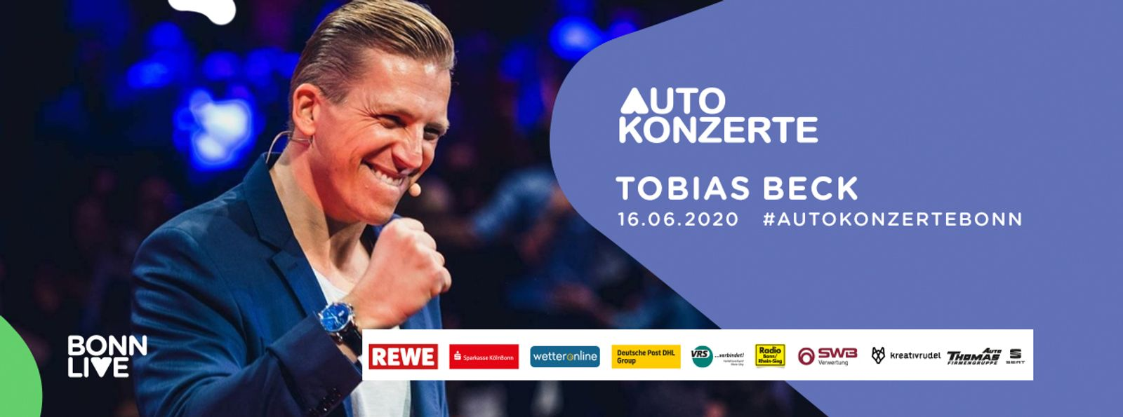 Tobias Beck | BonnLive Autokonzerte