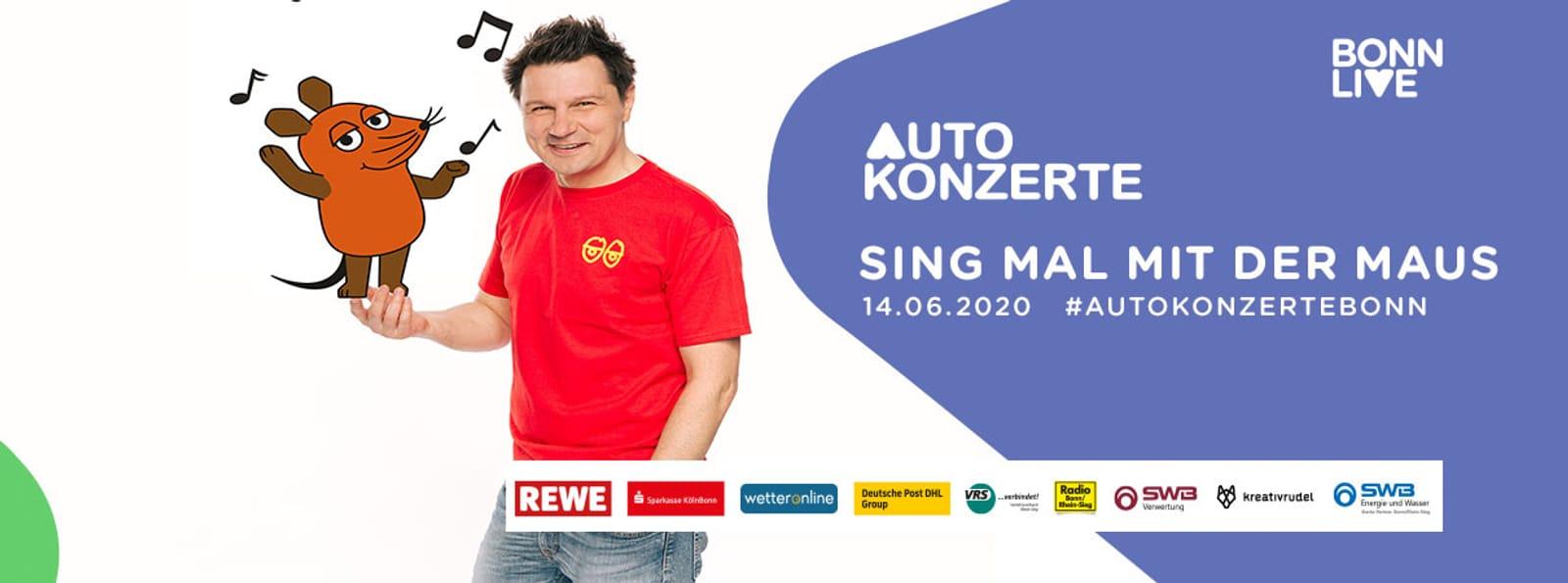 Sing mal mit der Maus | BonnLive Autokonzerte