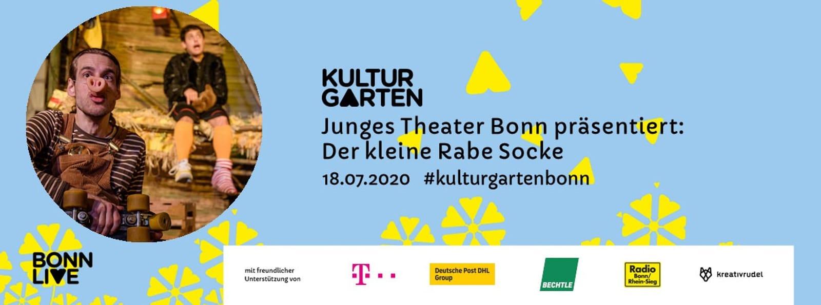 JTB: Der kleine Rabe Socke | BonnLive Kulturgarten