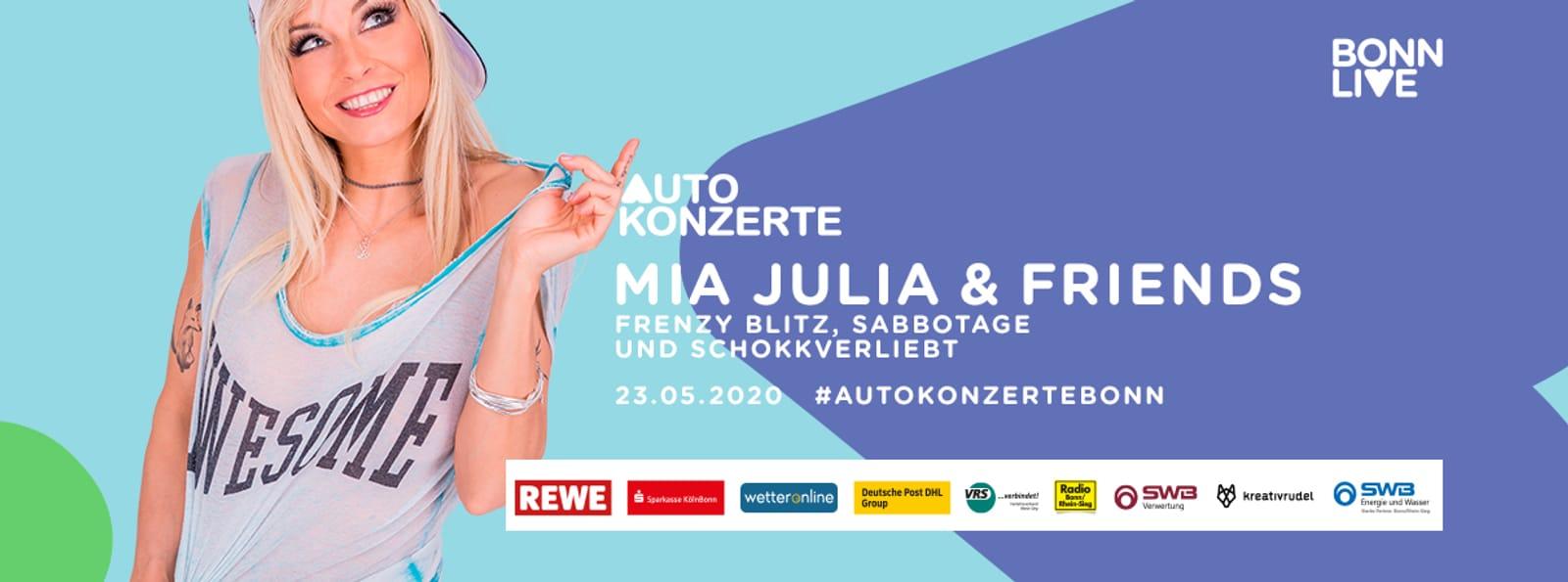 Mia Julia & Friends | BonnLive Autokonzerte