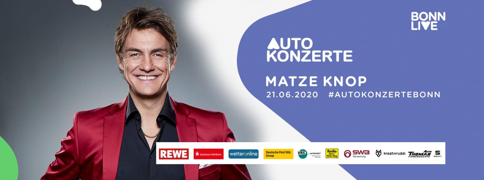 Matze Knop | BonnLive Autokonzerte
