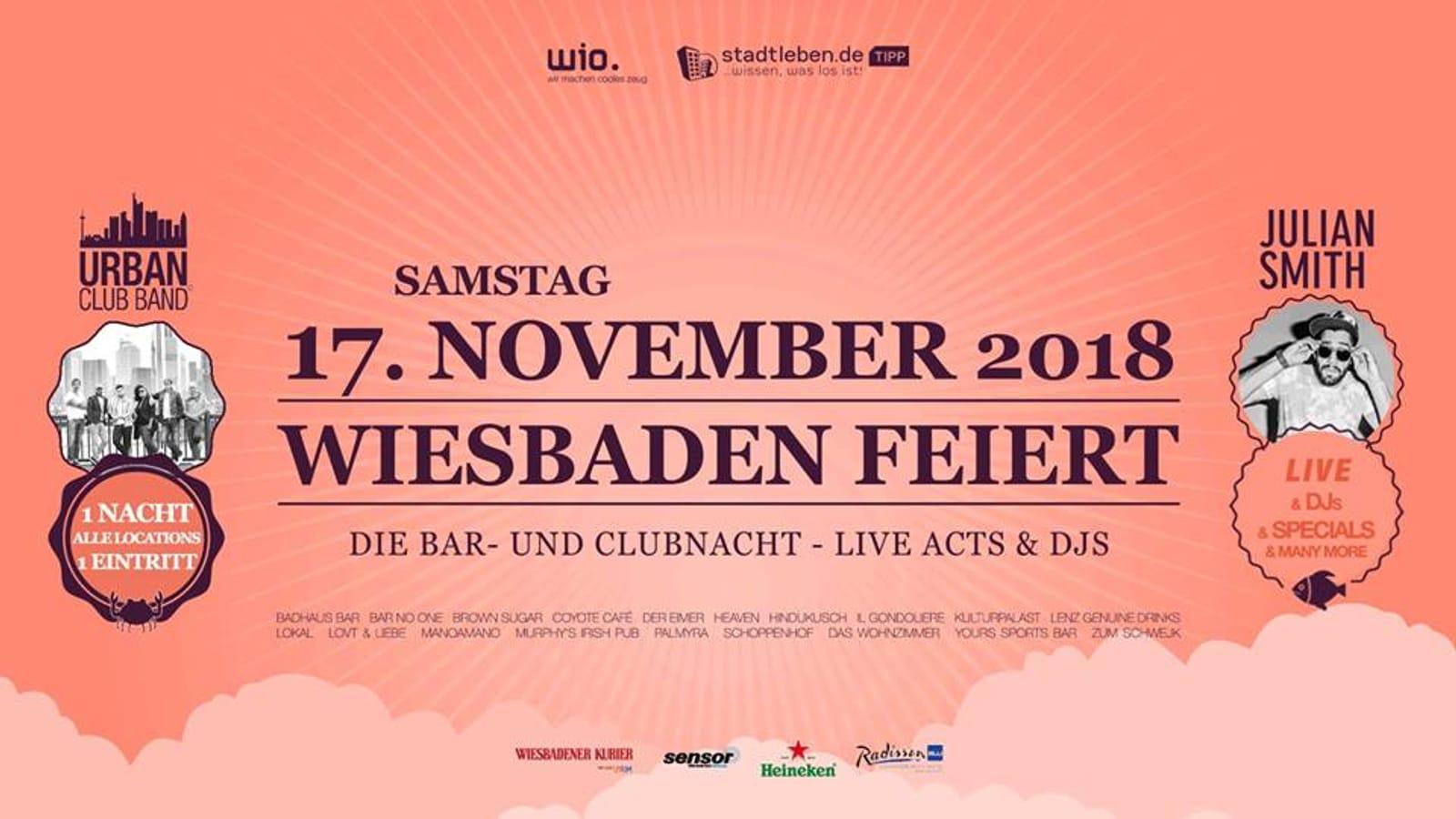 Wiesbaden feiert 2018