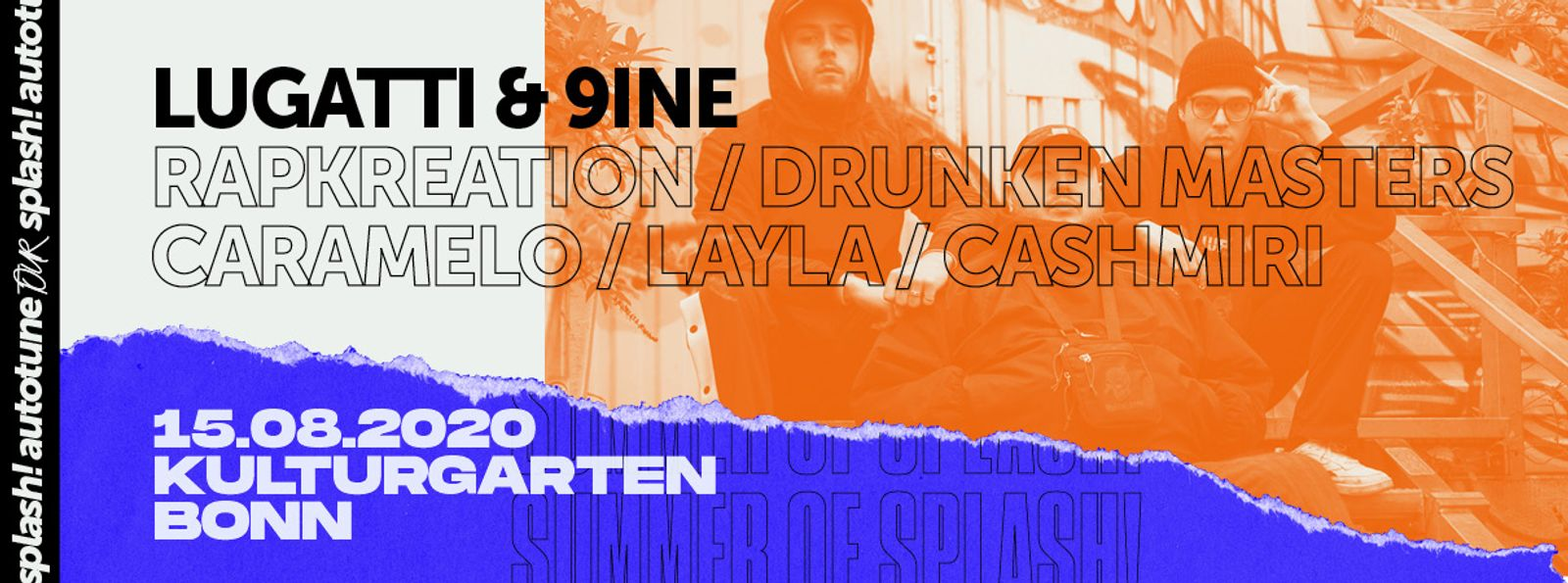 Summer of splash! - Autotune Tour | BonnLive Kulturgarten