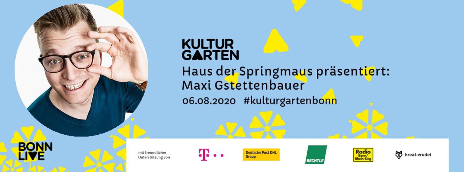 Maxi Gstettenbauer  | BonnLive Kulturgarten
