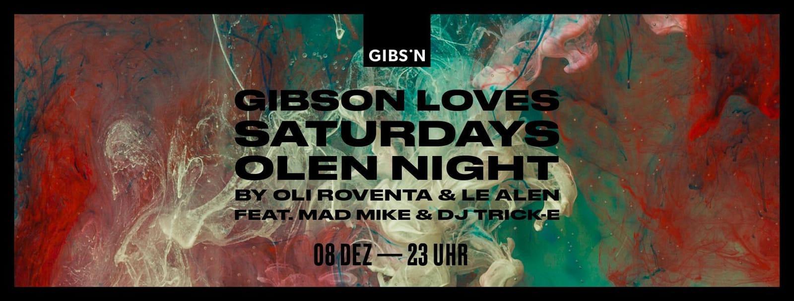 Gibson Loves Saturdays | 08.12.