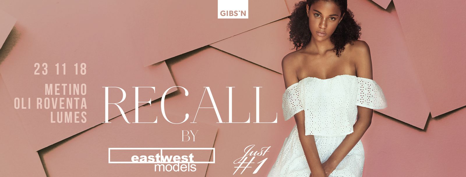 RECALL pres. by EASTWESTMODELS | 23.11.