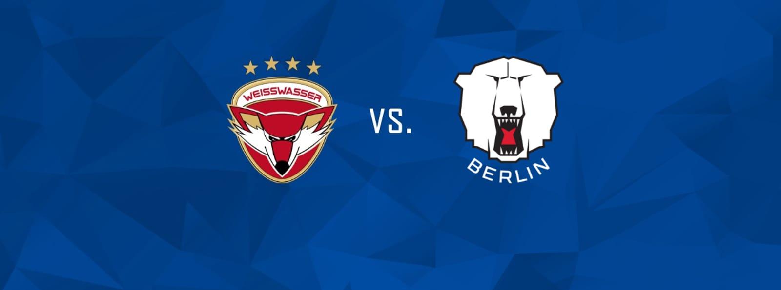 Lausitzer Füchse vs. Eisbären Berlin