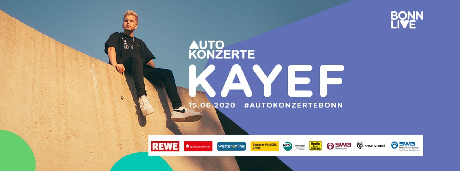 KAYEF | BonnLive Autokonzerte