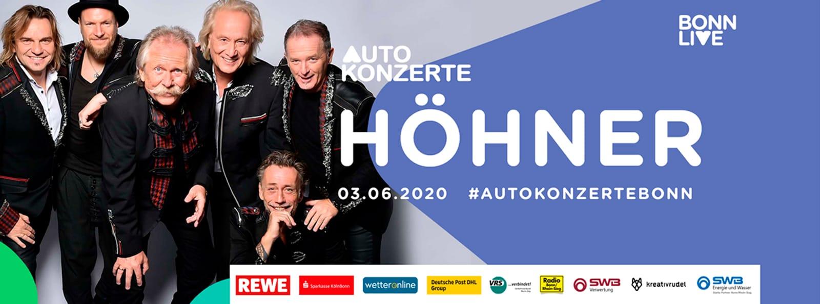 Höhner | BonnLive Autokonzerte