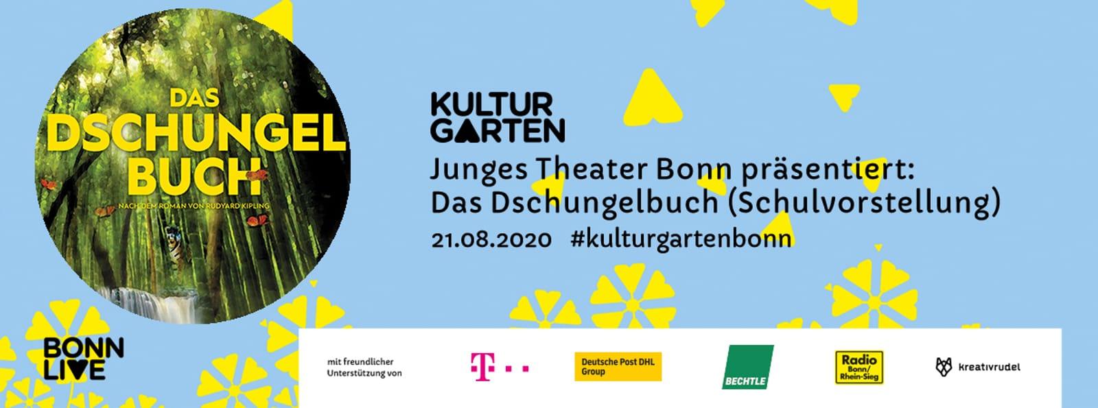 JTB: Das Dschungelbuch (Schulvorstellung) | BonnLive Kulturgarten