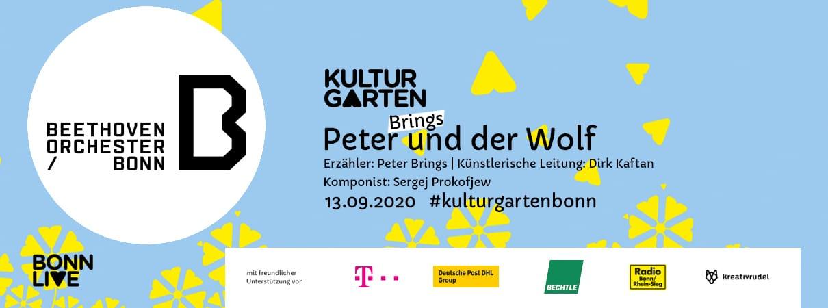 Beethoven Orchester: Peter und der Wolf | BonnLive Kulturgarten