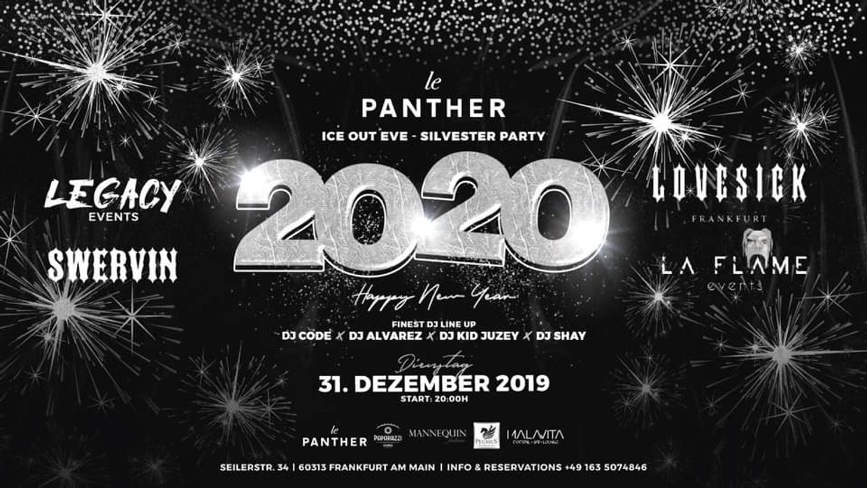 Le Panther x New Years Eve