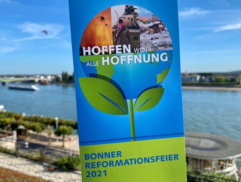 """Zentraler Gottesdienst zum Reformationstag in Bonn: """"Hoffnung wider alle Hoffnung"""""""