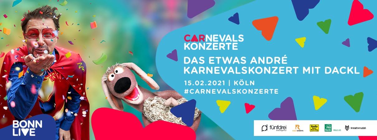 Das etwas André Karnevalskonzert mit Dackl   Köln Carnevalskonzerte