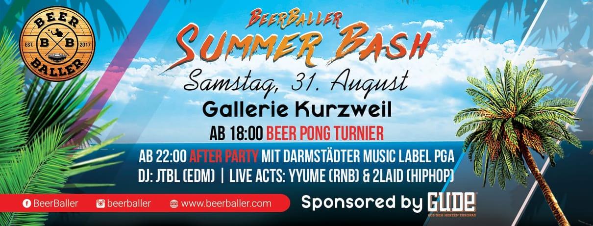 BeerBaller Summer Bash Pool Party