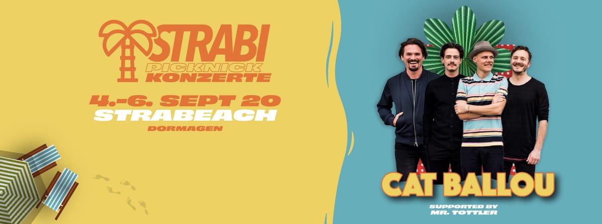 Cat Ballou live | Strabi Picknick Konzert