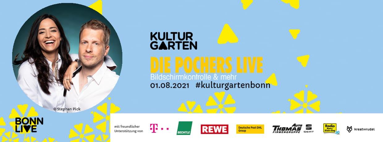DIE POCHERS LIVE   BonnLive Kulturgarten