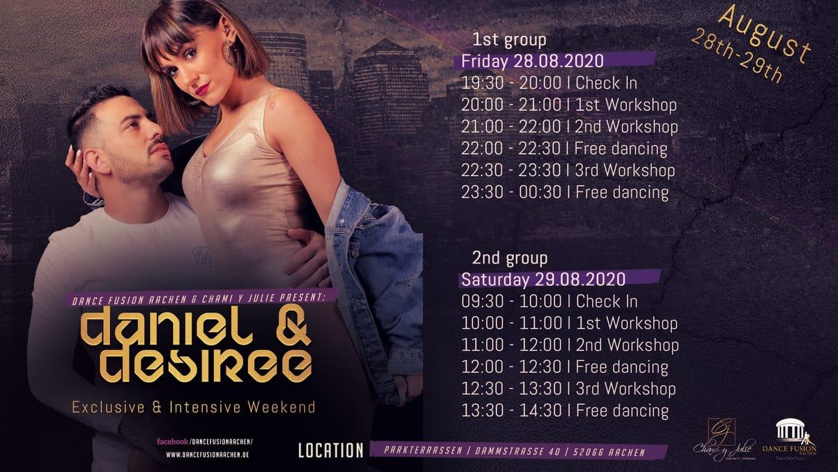 Daniel & Desiree Exclusive & Intensive Event in Aachen!