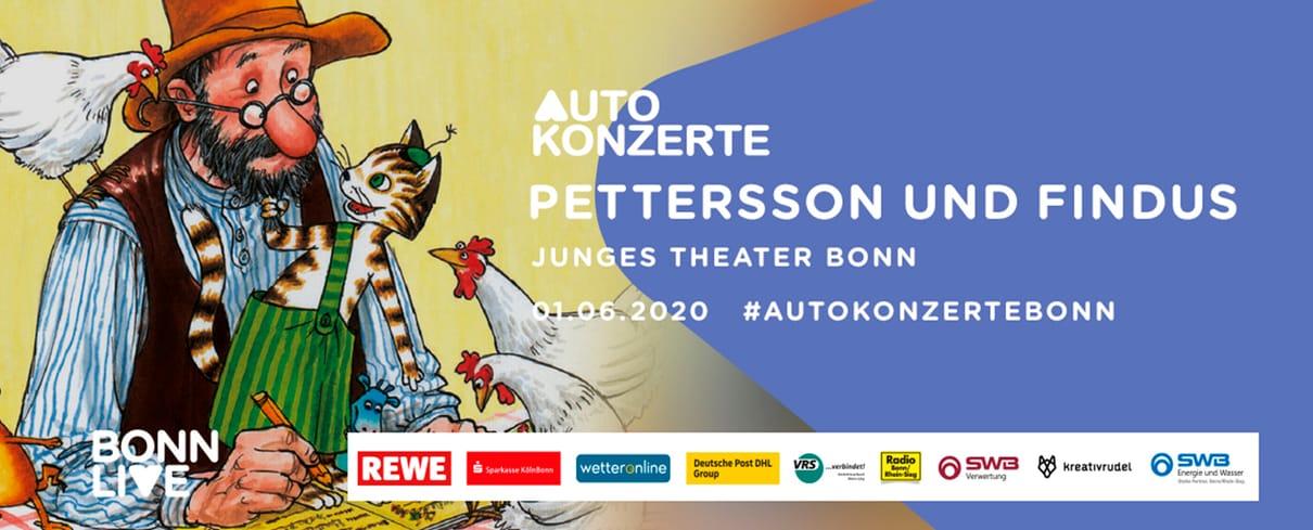 JTB: Pettersson und Findus   BonnLive Autokonzerte