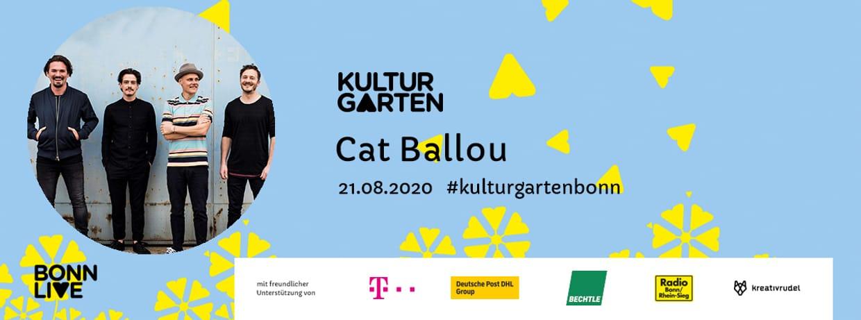 Cat Ballou | BonnLive Kulturgarten