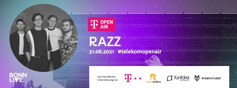 RAZZ /w wildfire. | Telekom Open Air