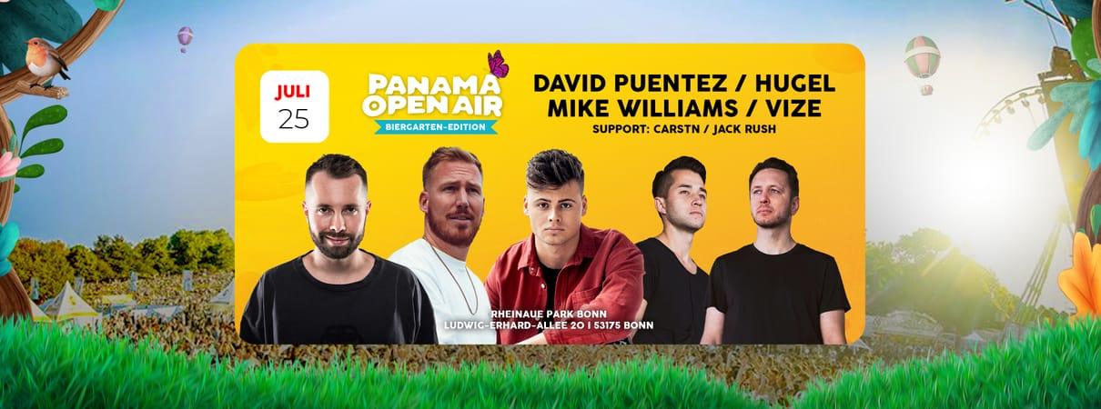 Panama Open Air - Biergarten Edition w/ David Puentez, Hugel, Mike Williams & Vize