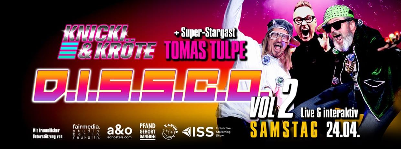 D.I.S.S.C.O. - VOL. 2 - Chärity Disco & Träshdänce Party Show