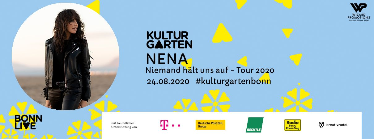 NENA: Niemand hält uns auf- Tour 2020 | BonnLive Kulturgarten