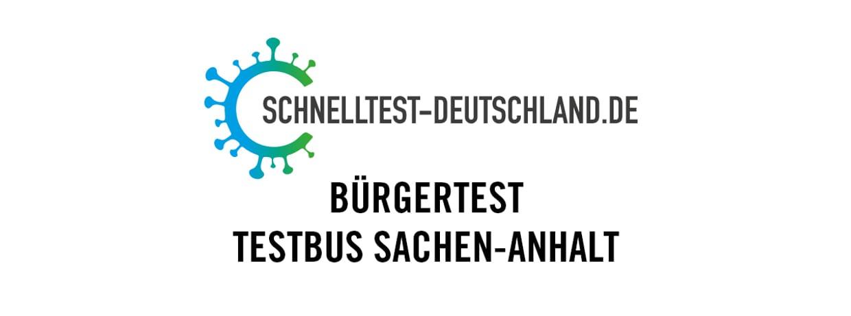 Bürgertest Testbus Sachen-Anhalt I Sportbad Bitterfeld (Mo, 07.06.2021)