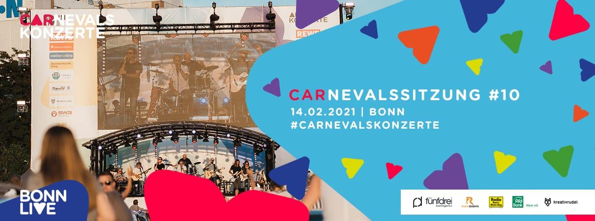 Carnevalssitzung #10 (PKW-Tickets ausverkauft) | Bonn Carnevalskonzerte