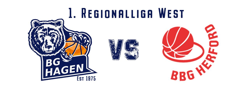 1. Regionalliga West BG Hagen - BBG Herford