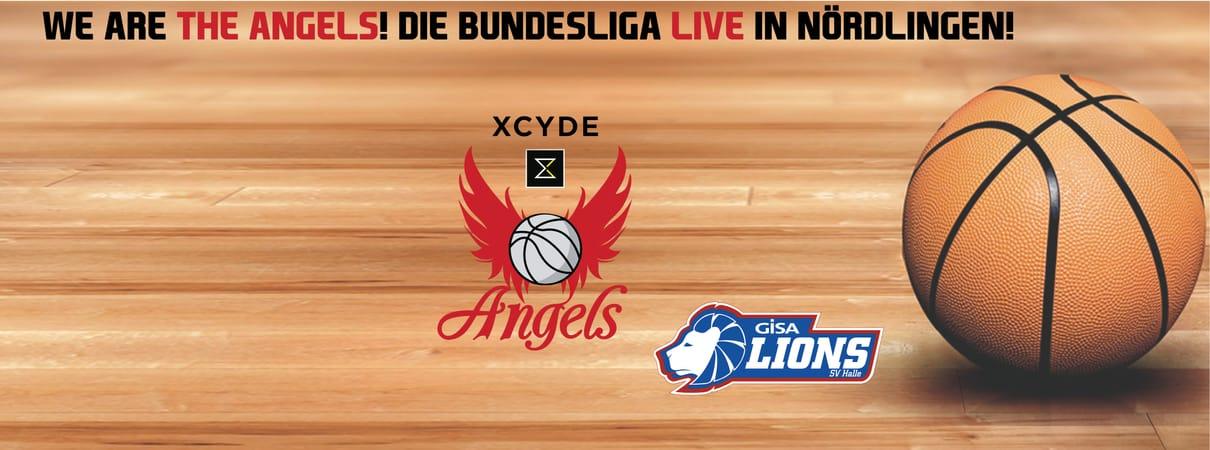 XCYDE Angels - GISA LIONS SV Halle