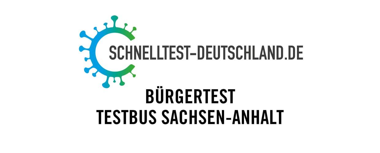 Bürgertest Testbus Sachen-Anhalt I BITZ REVIVAL (Sa, 24.07.2021)