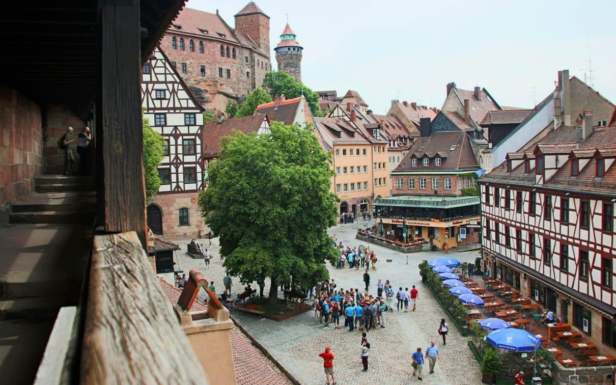 Auswärtstrip und Sightseeing  in Nürnberg mit VIP-Zugang