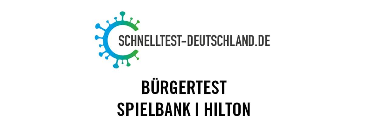 Schnelltestzentrum Spielbank I Hilton Mainz