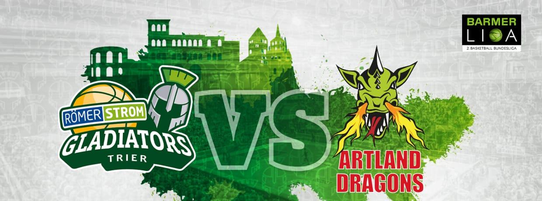 RÖMERSTROM Gladiators Trier vs. Artland Dragons