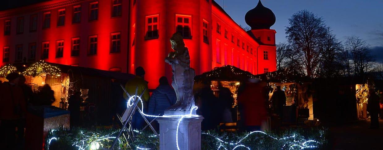 Romantischer Weihnachtsmarkt Schloss Tüßling 2018