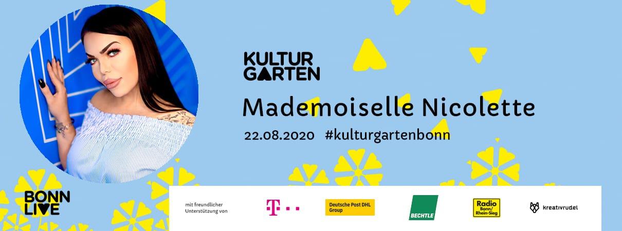 Mademoiselle Nicolette | BonnLive Kulturgarten