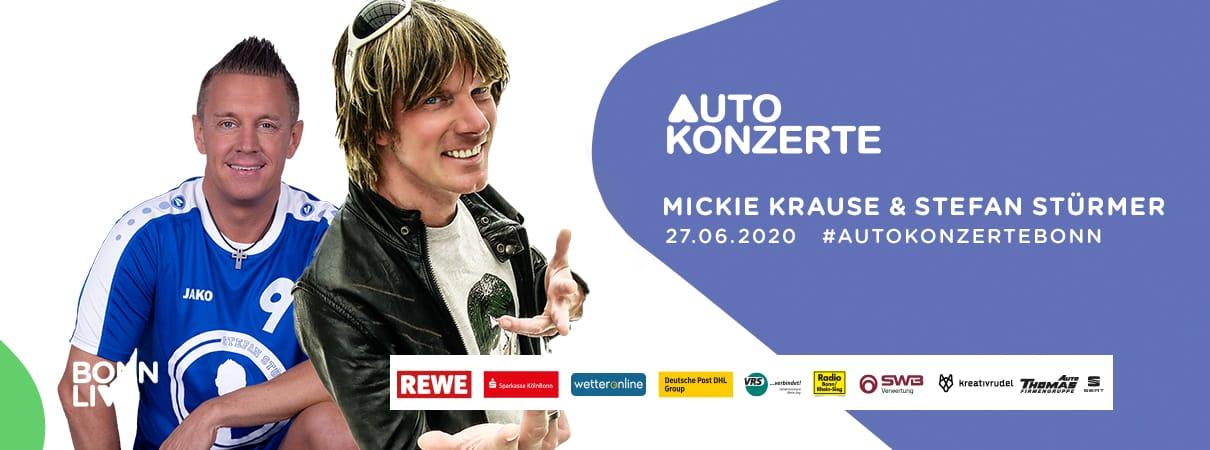 Mickie Krause & Stefan Stürmer | BonnLive Autokonzerte