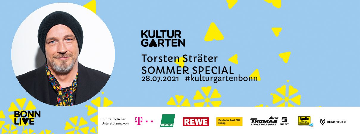 "Torsten Sträter : ""SOMMER SPEZIAL""   BonnLive Kulturgarten"