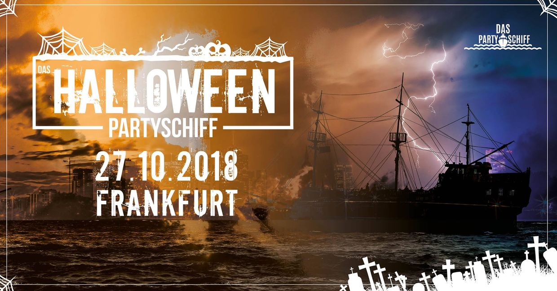 Halloween Partyschiff