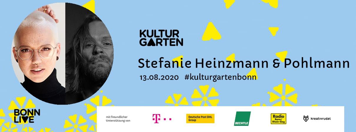 Stefanie Heinzmann & Pohlmann | BonnLive Kulturgarten