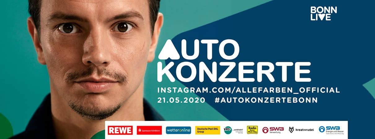 Alle Farben | BonnLive Autokonzerte | Zusatzshow