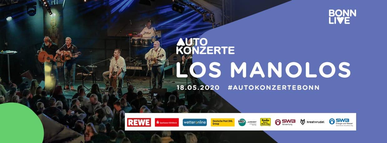 Los Manolos   BonnLive Autokonzerte