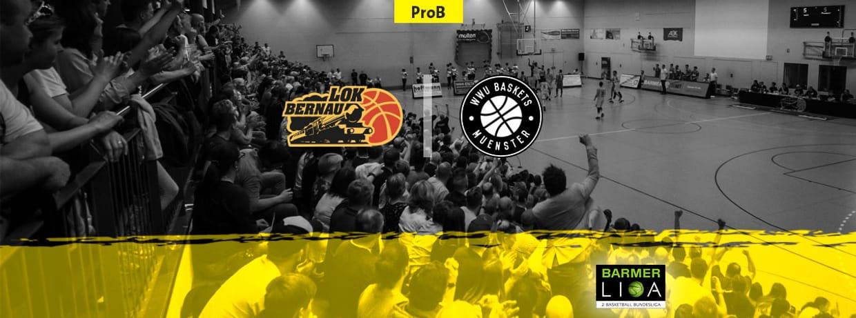 LOK Bernau vs. WWU Baskets Münster