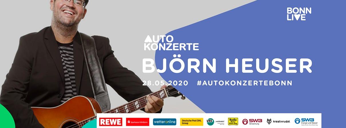 Björn Heuser | BonnLive Autokonzerte