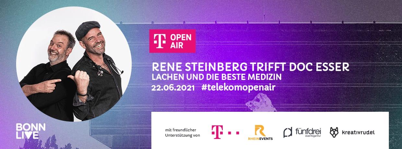 René Steinberg trifft Doc Esser   Telekom Open Air